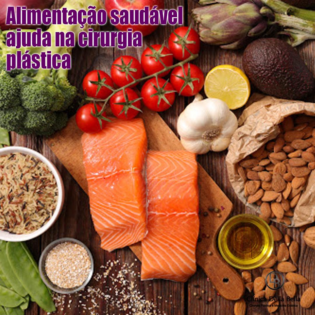 Alimentação saudável ajuda na cirurgia plástica
