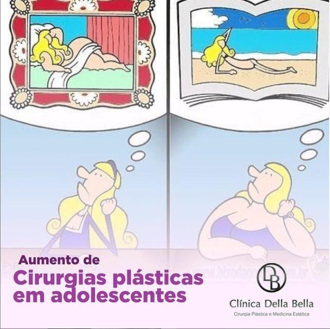 Cirurgia plástica na adolescência